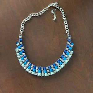 Beautiful blue neck piece